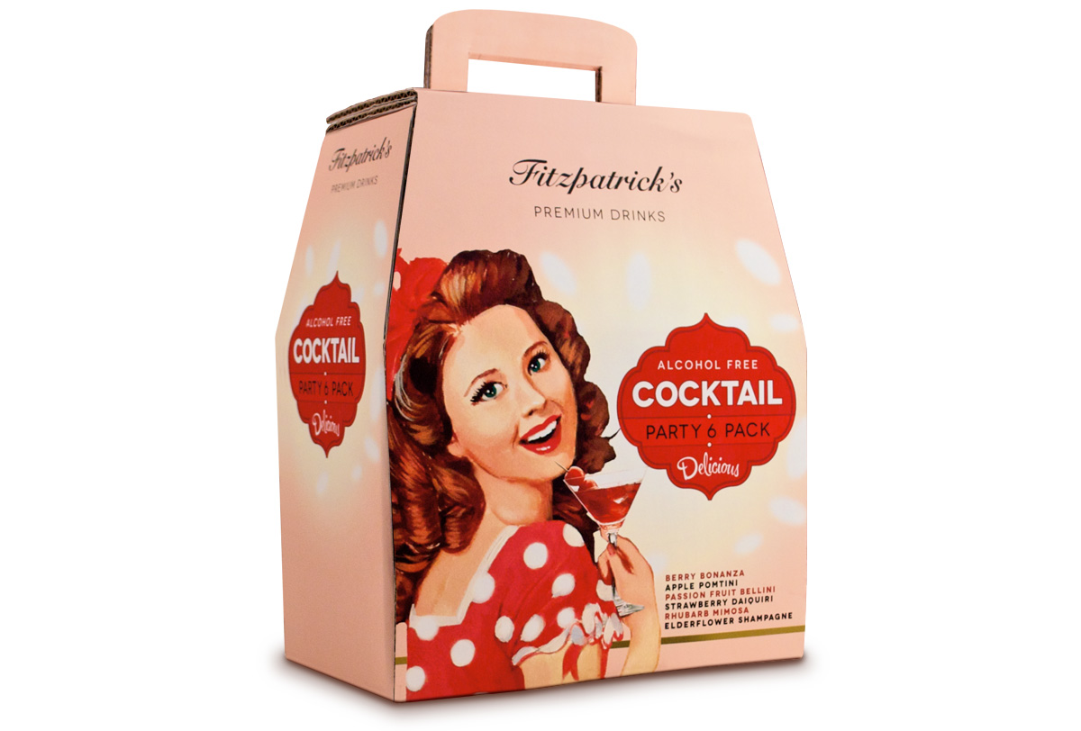 Mr Fitzpatrick's Alcohol Free Cocktails Carrier