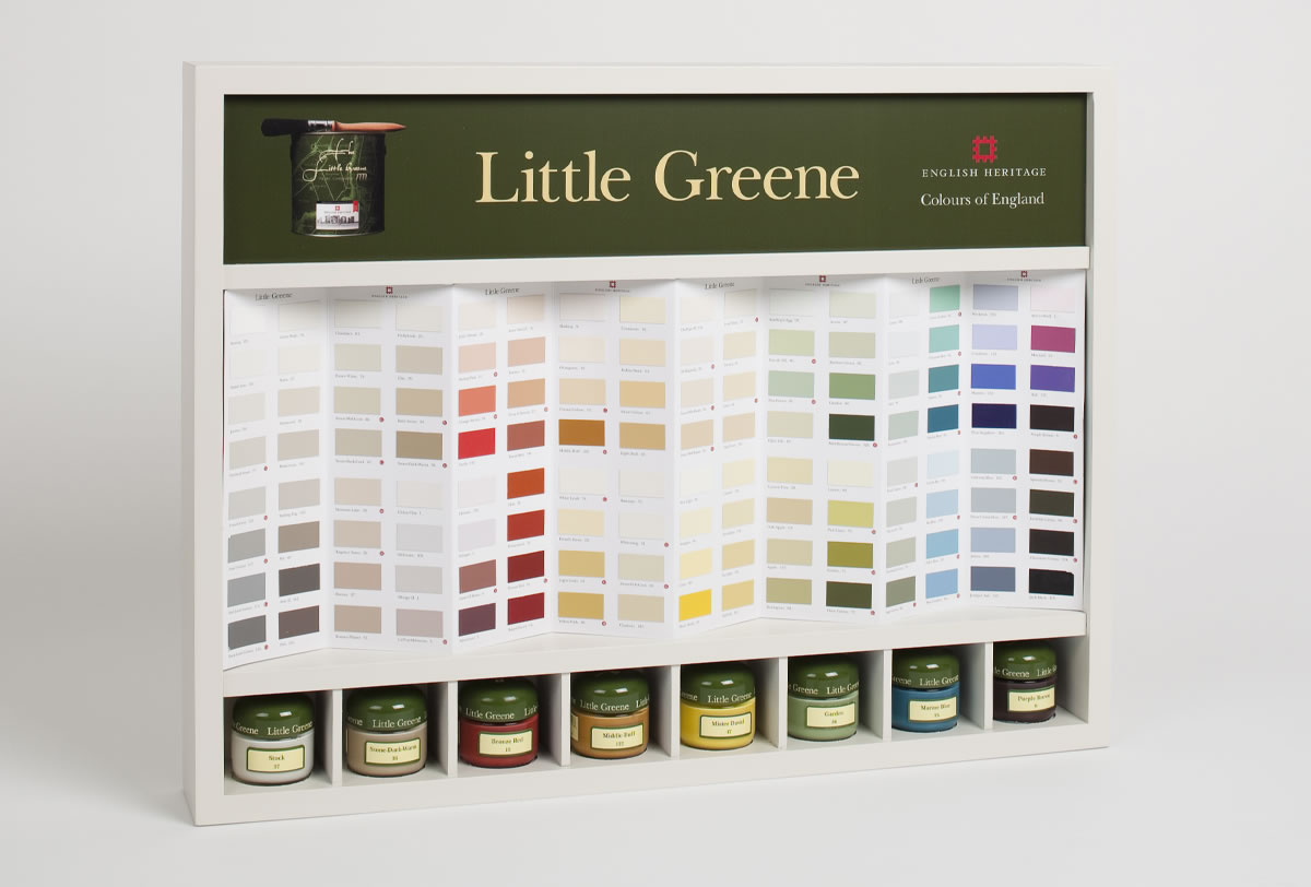 Little Greene Colour Card Display