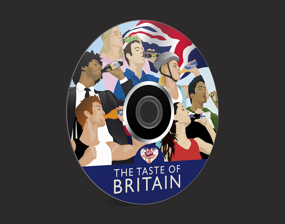 Taste of Britain CD